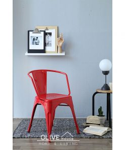 Metal-Chair-Decafe-Red