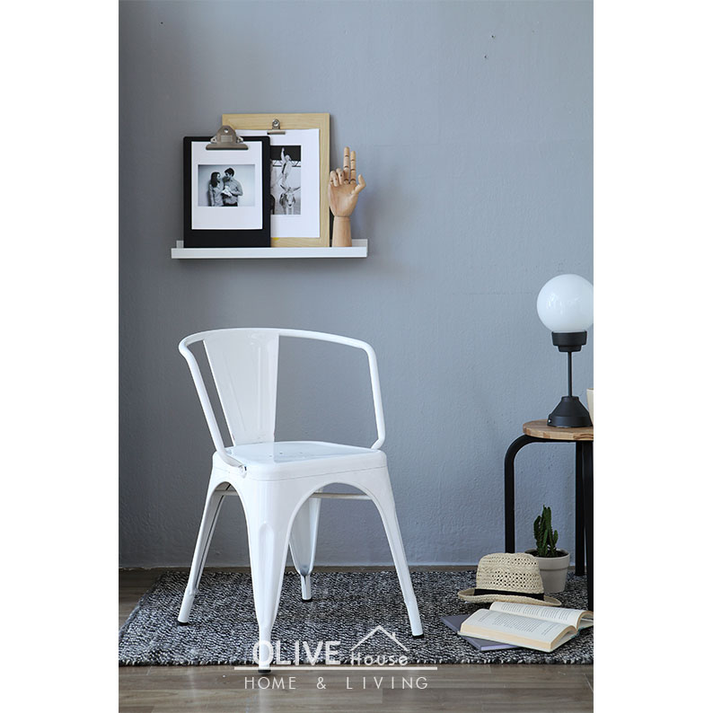 Metal-Chair-Decafe-White
