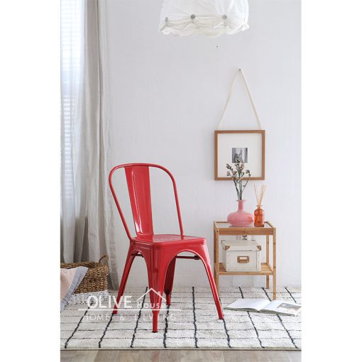 Metal-Chair-Michelle-Red